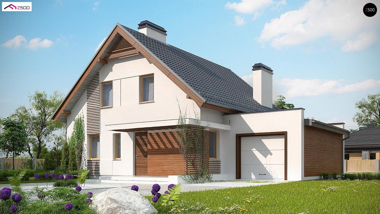 Проект дома Z166 GP - 1