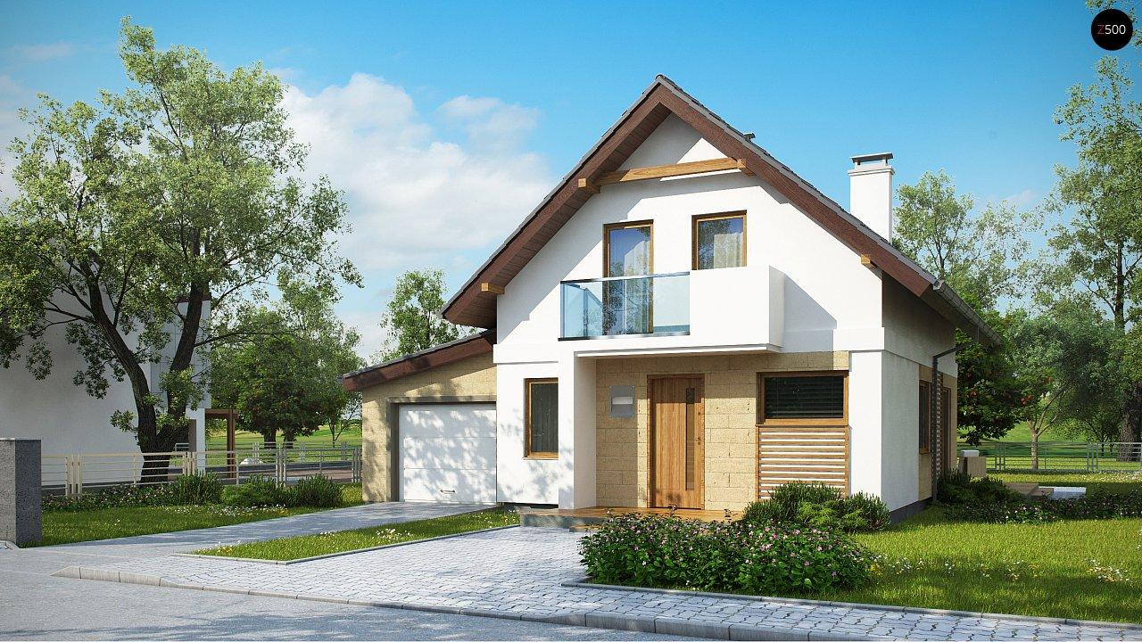 Проект дома Z177 GL - 1