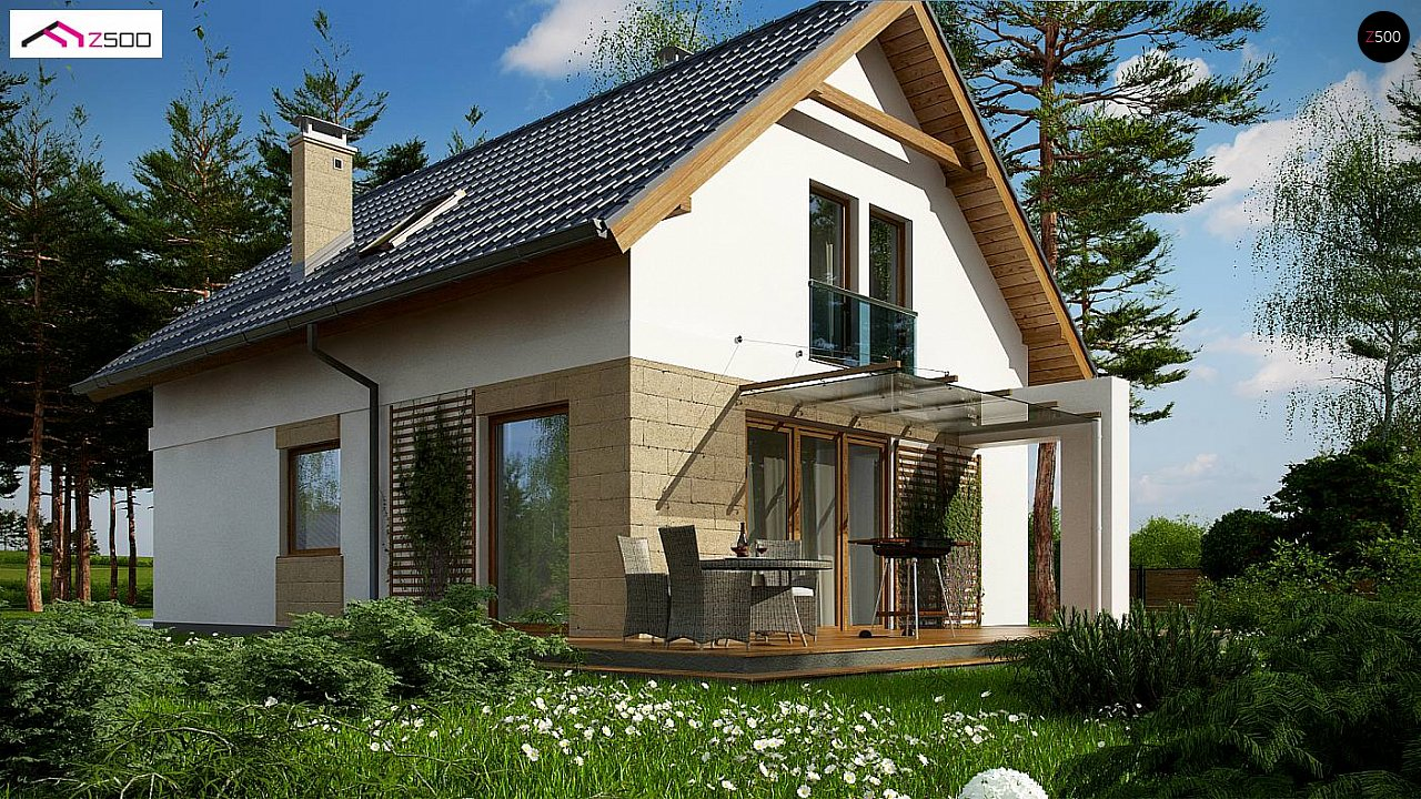 Проект дома Z177 + - 1