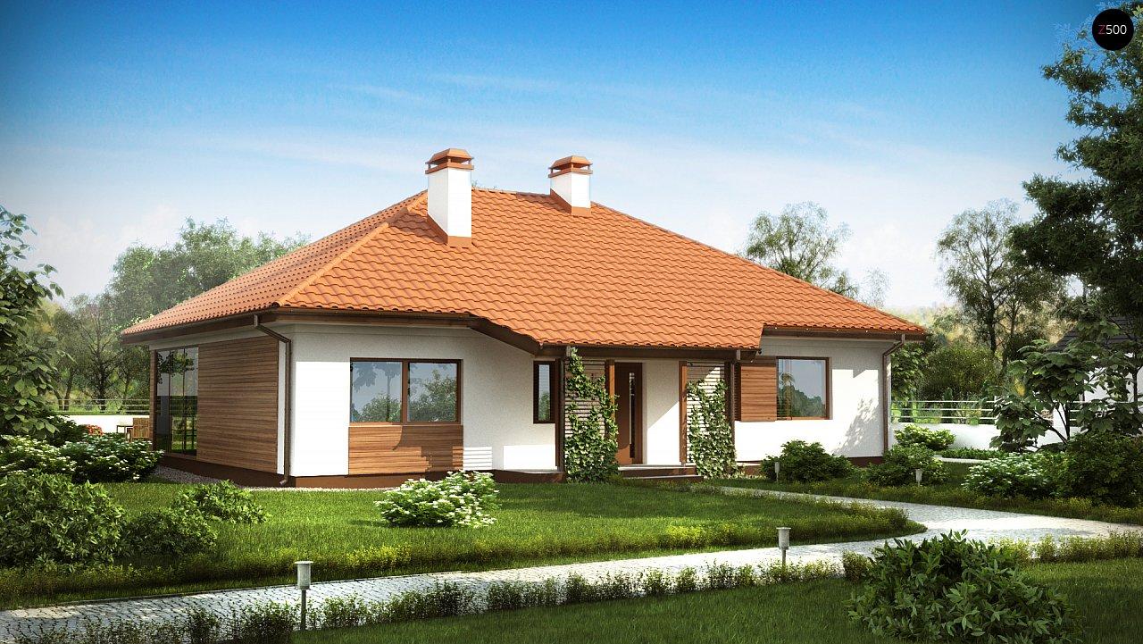Проект дома Z185 - 1