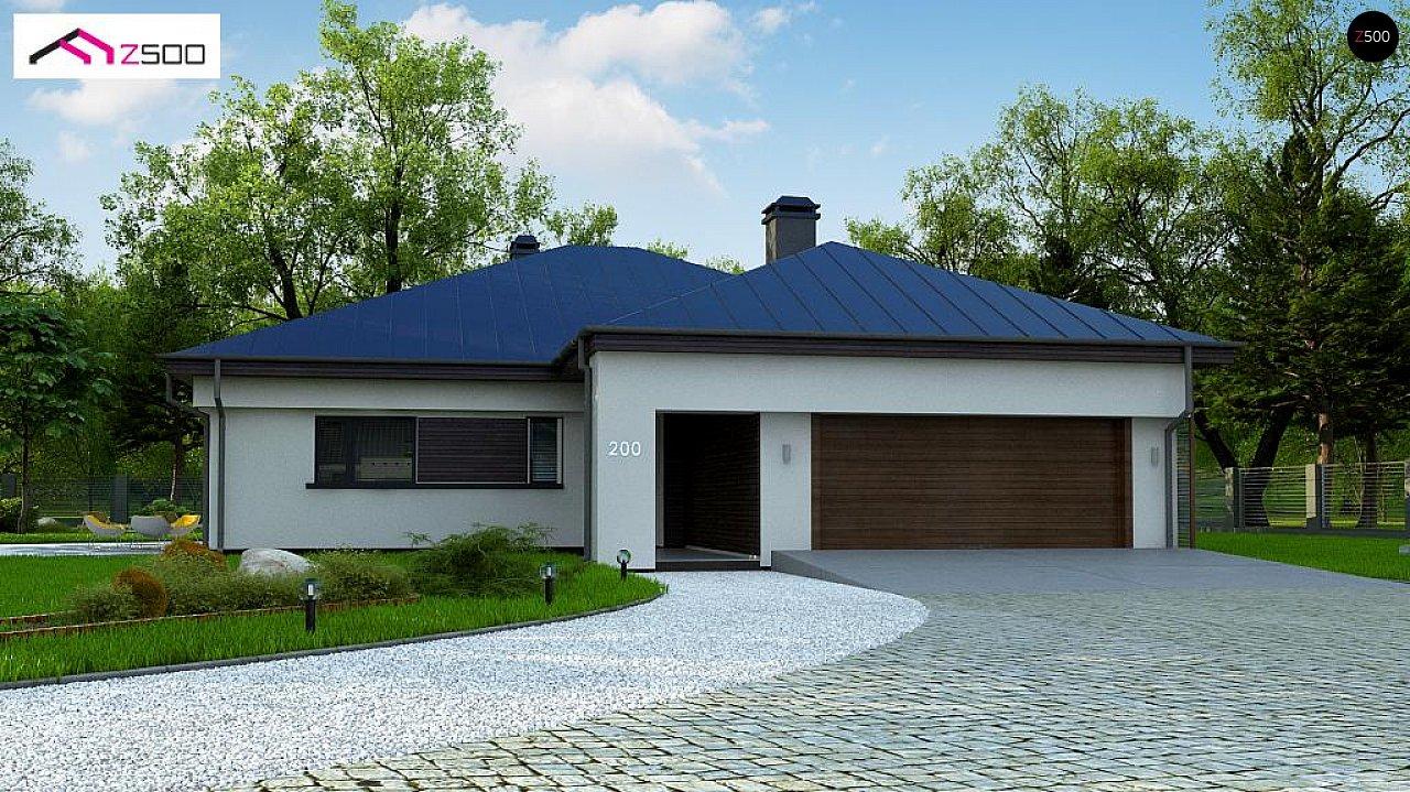 Проект дома Z200 L + 100 - 1
