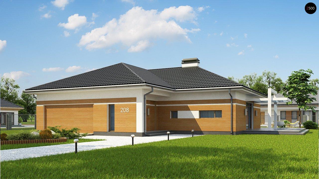 Проект дома Z208 A