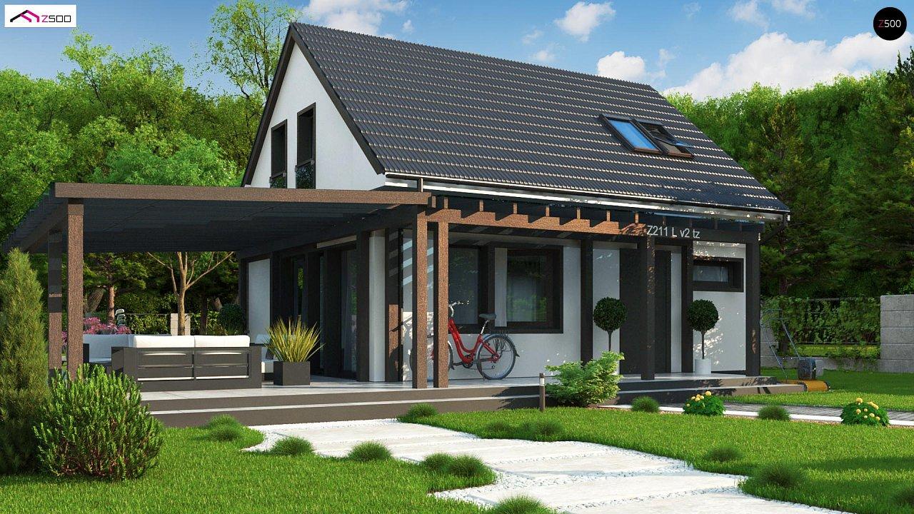 Проект дома Z211 v2 tz