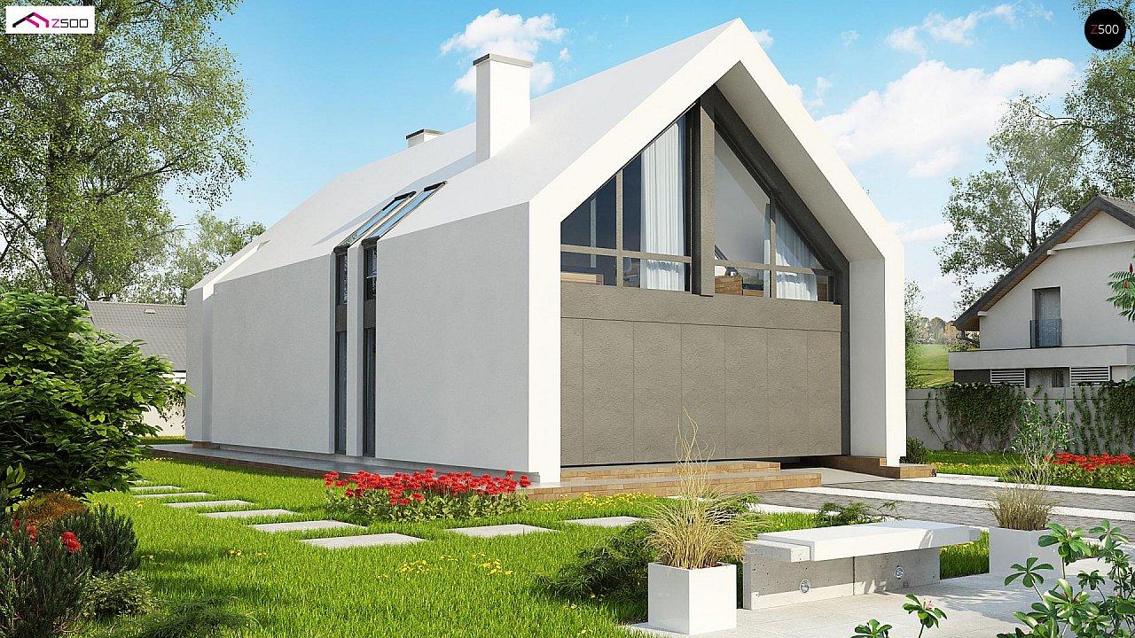 Проект дома Z215 A - 1