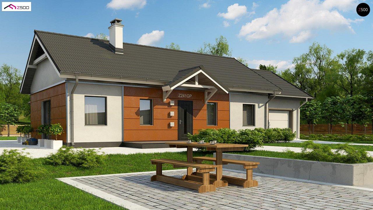 Проект дома Z241 GP HB - 1