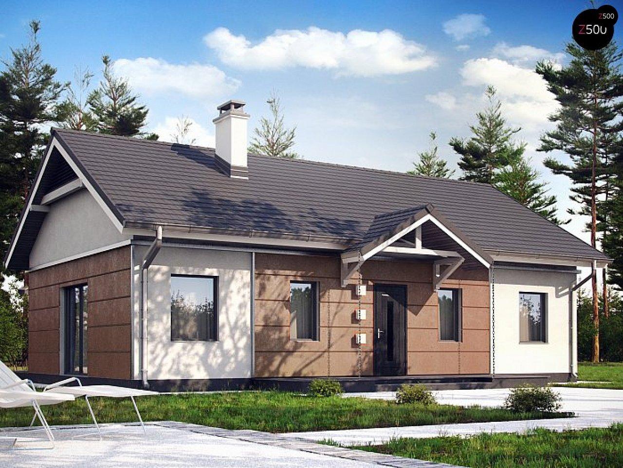Проект дома Z241 S - 1