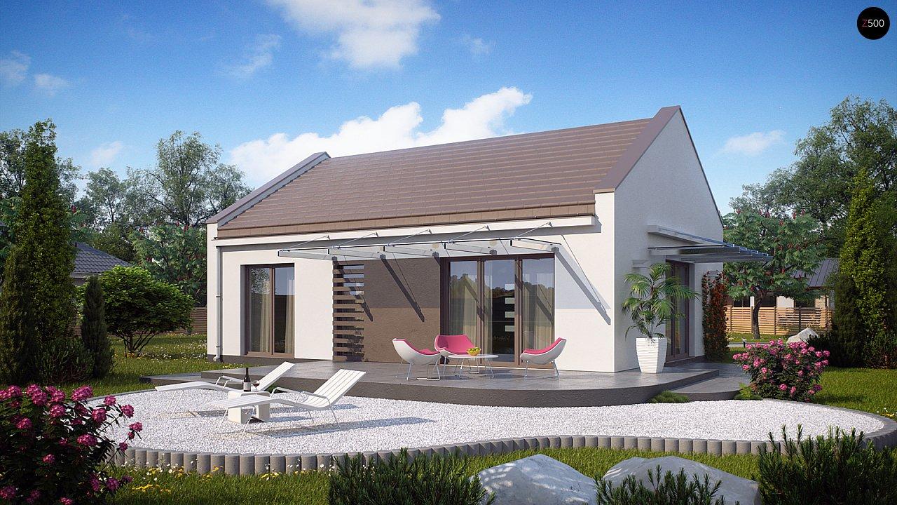 Проект дома Z252 - 1