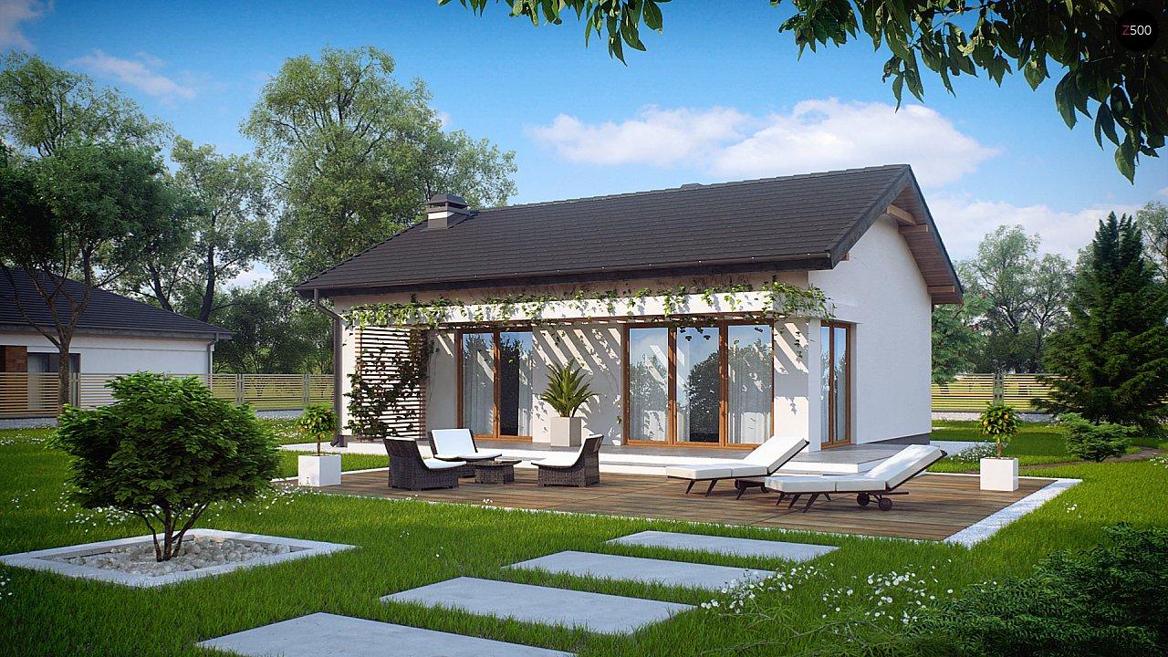 Проект дома Z254 - 1