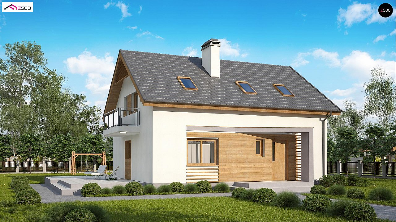 Проект дома Z255 B pc