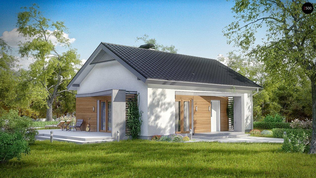 Проект дома Z255 - 1