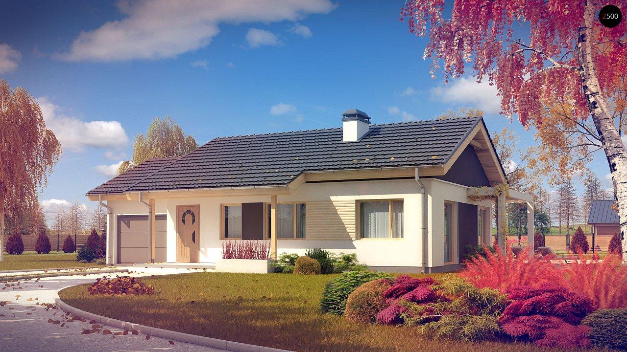 Проект дома Z259 - 1