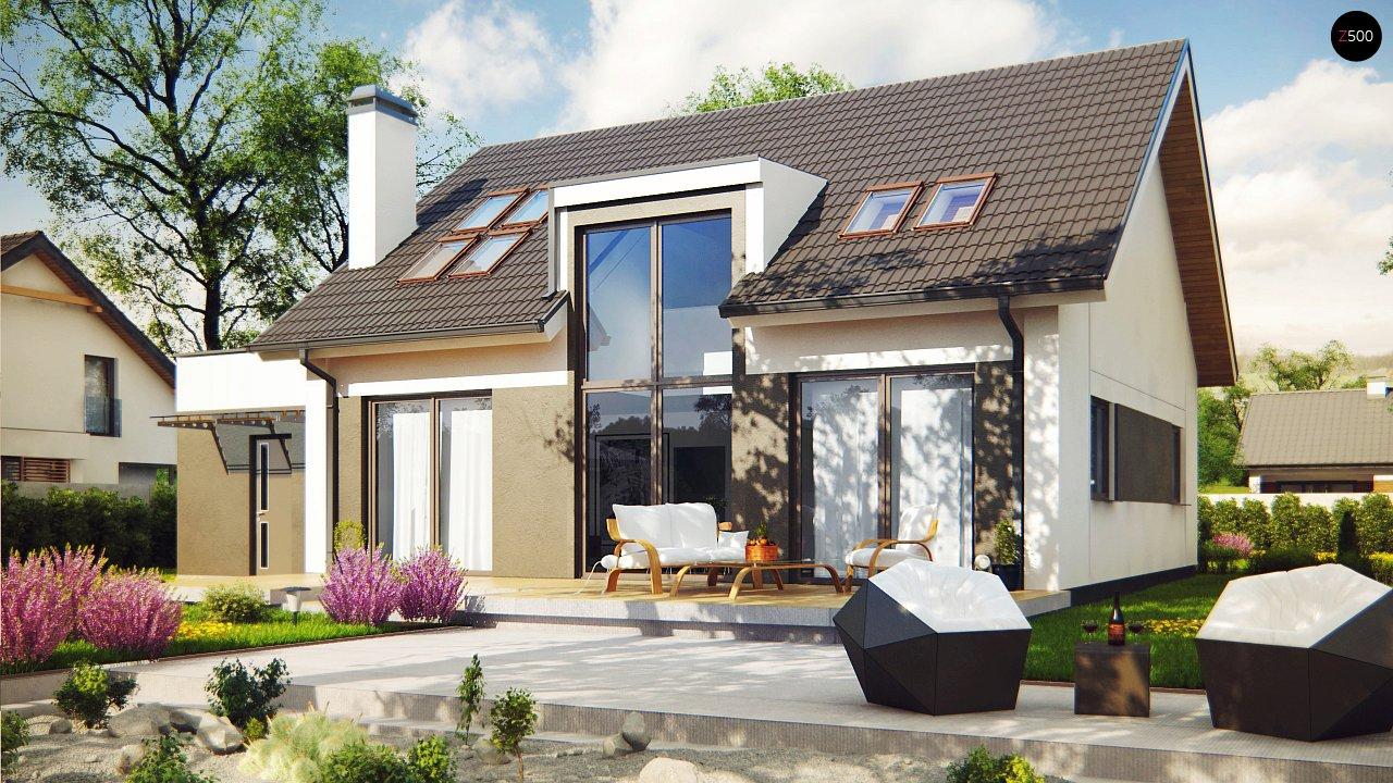 Проект дома Z266 - 1