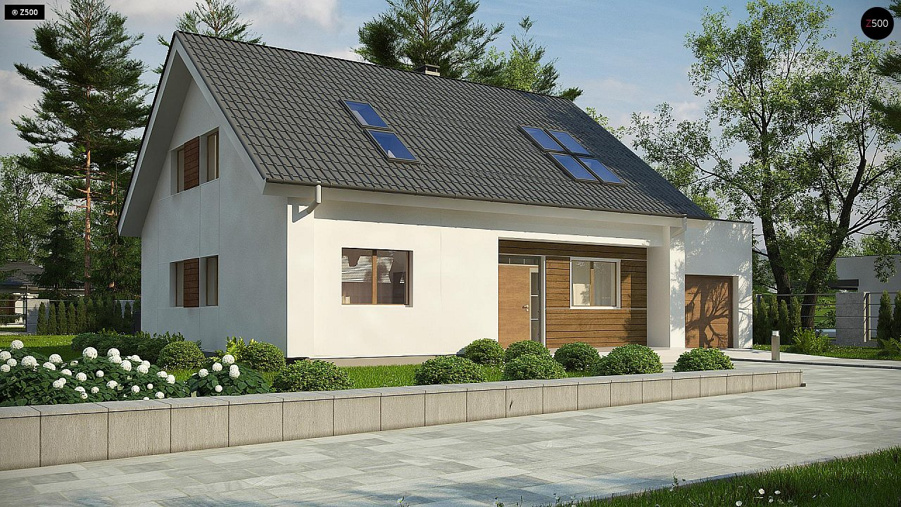 Проект дома Z266 A - 1