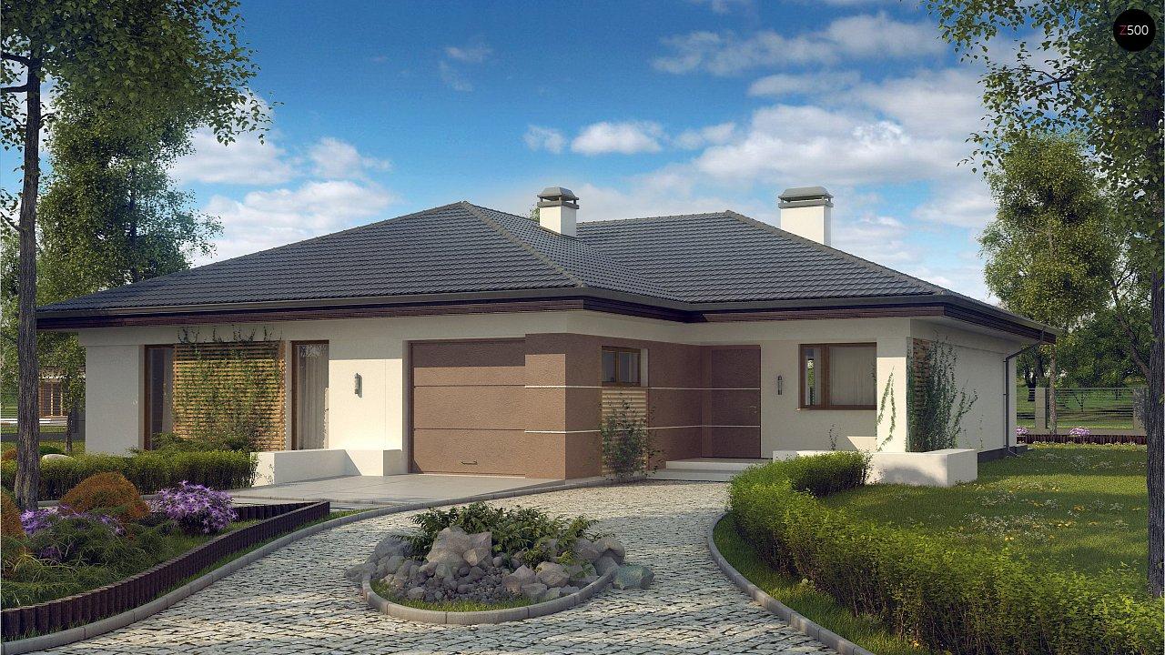 Проект дома Z268 - 1