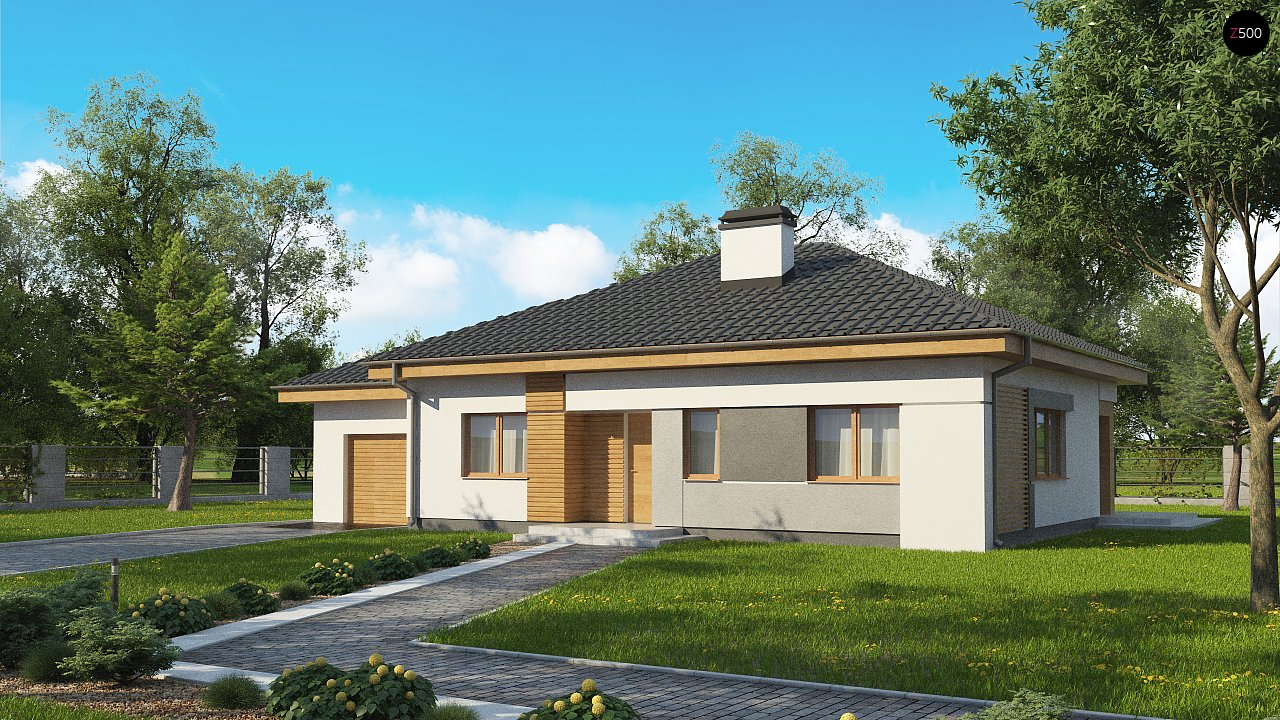 Проект дома Z273 a L GL