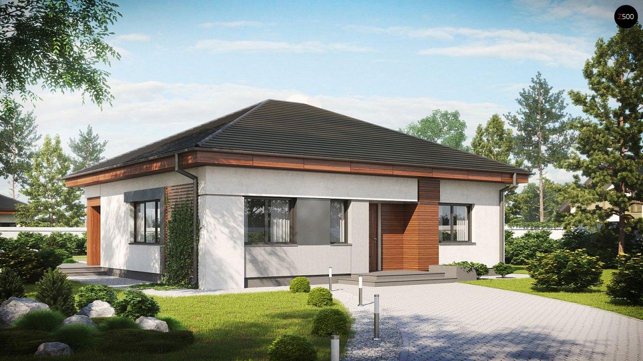 Проект дома Z273 F