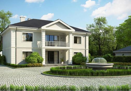 Проект дома Zx113 bg