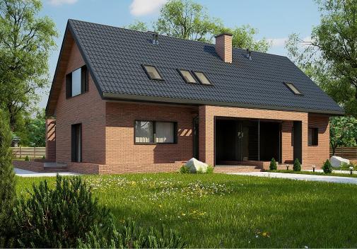 Проект дома Z351