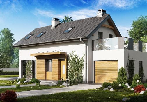 Проект дома Z298