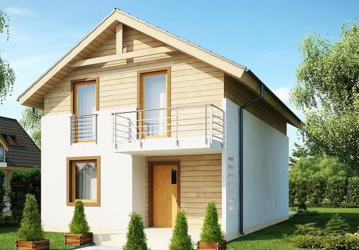 Проект дома Z38 V1