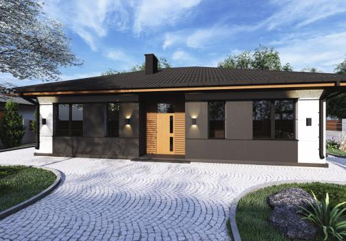 Проект дома DB12