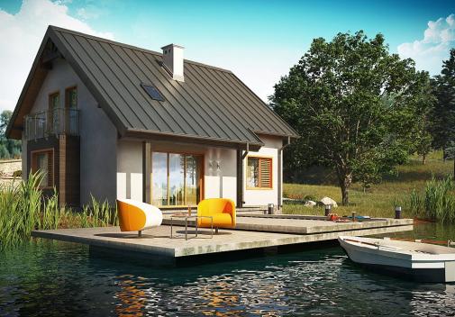 Проект дома Z162