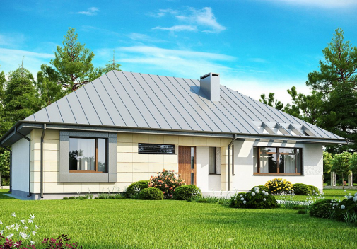 Проекты компактных домов до 150 м2 Z140