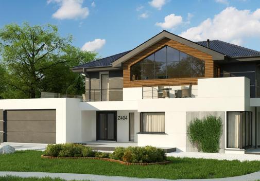 Проект дома Z404