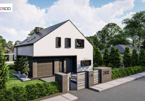 Проект дома Z432
