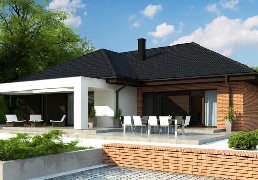Проект дома Z282