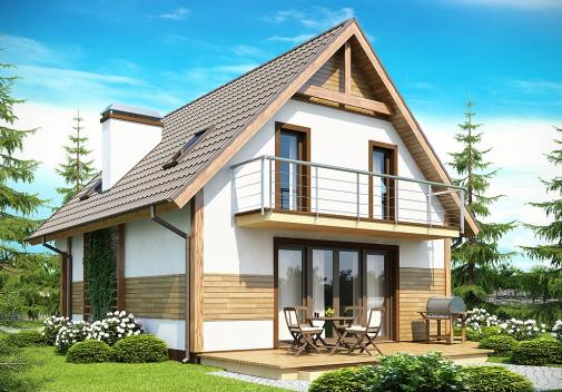Проект дома Z45