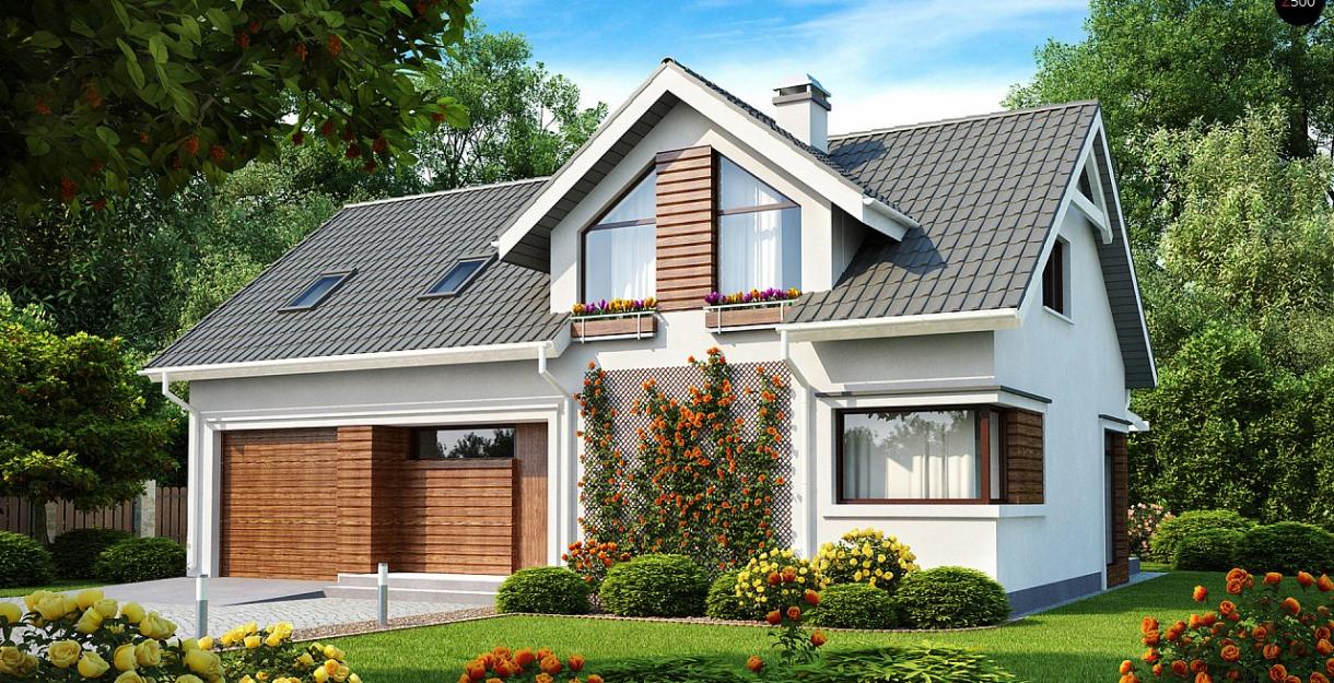 Топ 10 проектов домов с гаражами
