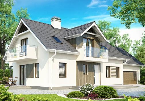 Проект дома Z175