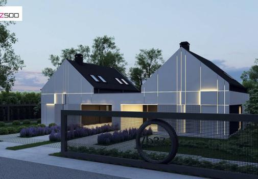 Проект дома Zb37
