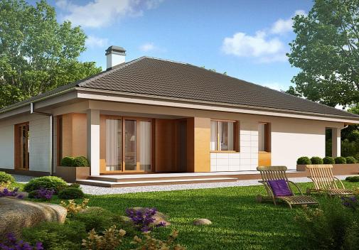 Проект дома Z209