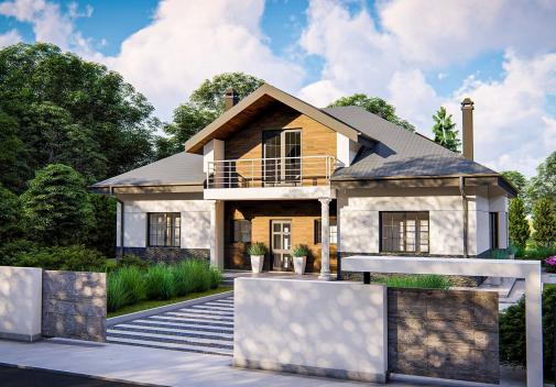 Проект дома Zz10 stu bk