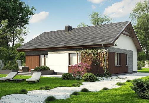 Проекты гостевых домов до 100 м2 Z334