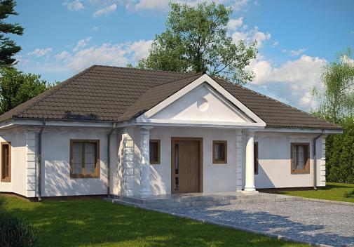 Проект дома Z2 L + w