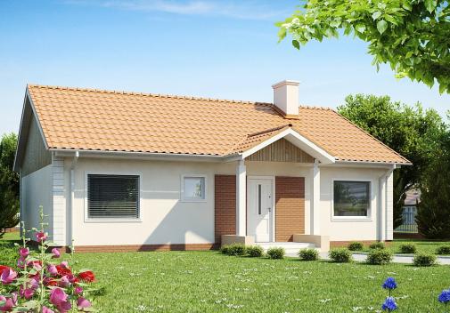 Проект дома Z91