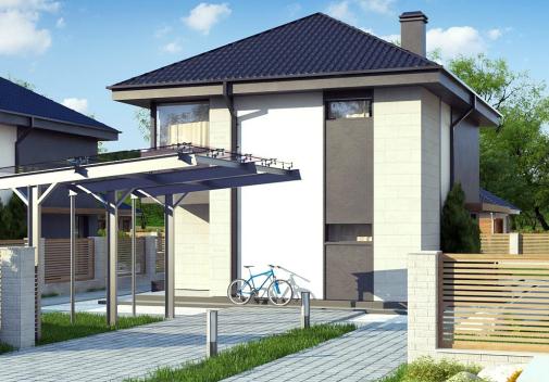 Проект дома Z276