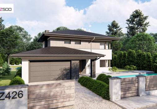 Проект дома Z426