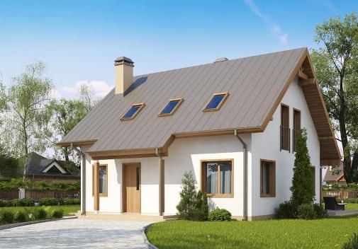 Проекты компактных домов до 150 м2 Z162 v3