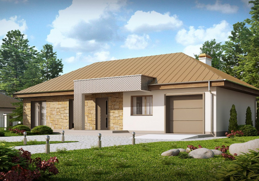 Проект дома Z165
