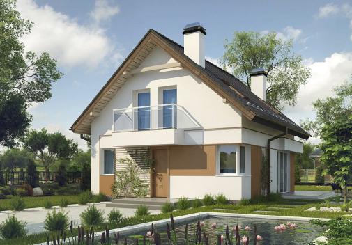 Проекты домов 3 спальни Z265