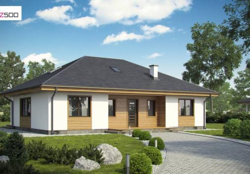 Проект дома Z35 A BG