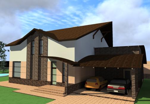 Проект дома Db 5