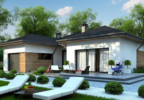 Проект дома Z401