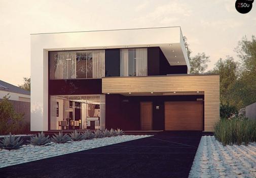 Проект дома Zx123 P