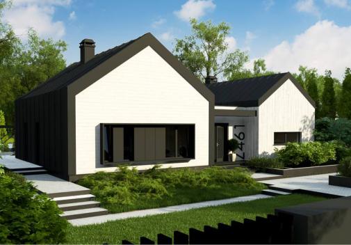 Проект дома Z461 v1