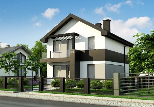 Проект дома Z372